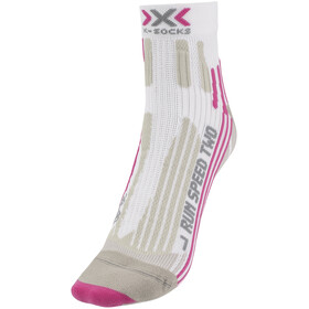 X-Socks Run Speed Two Hardloopsokken Dames grijs/wit